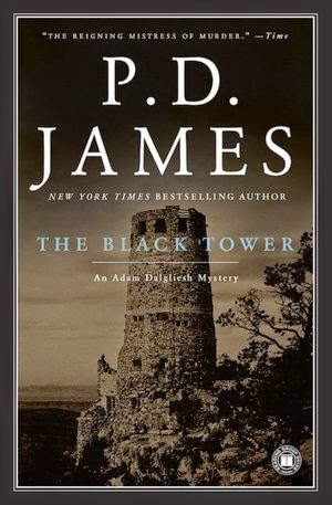 The Black Tower (Published in 1975) - Authored by PD James - Danger to Dalgliesh