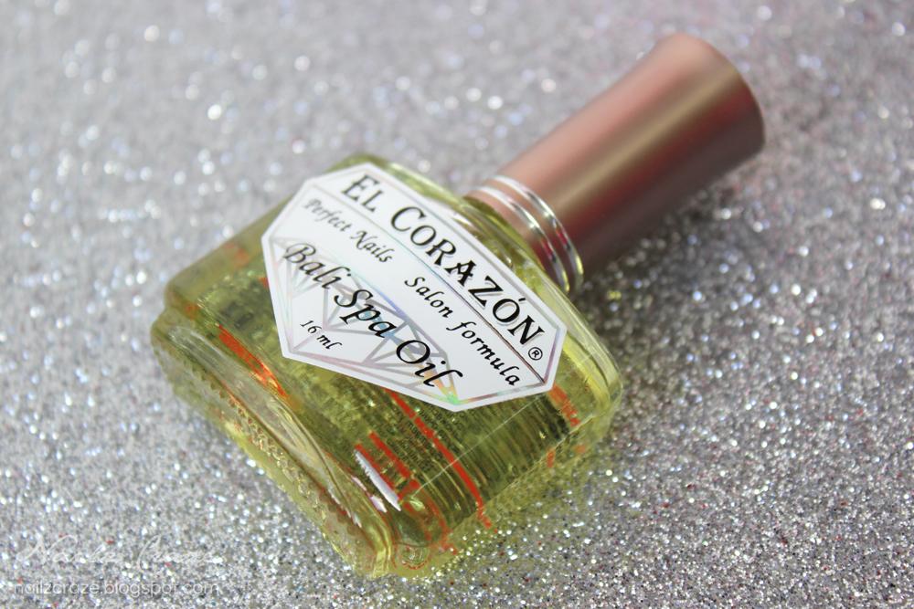 El Corazon - Bali Spa Oil & Glass Nail File - Nailz Craze