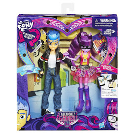 MLP Equestria Girls Friendship Games 2-pack Flash Sentry Doll