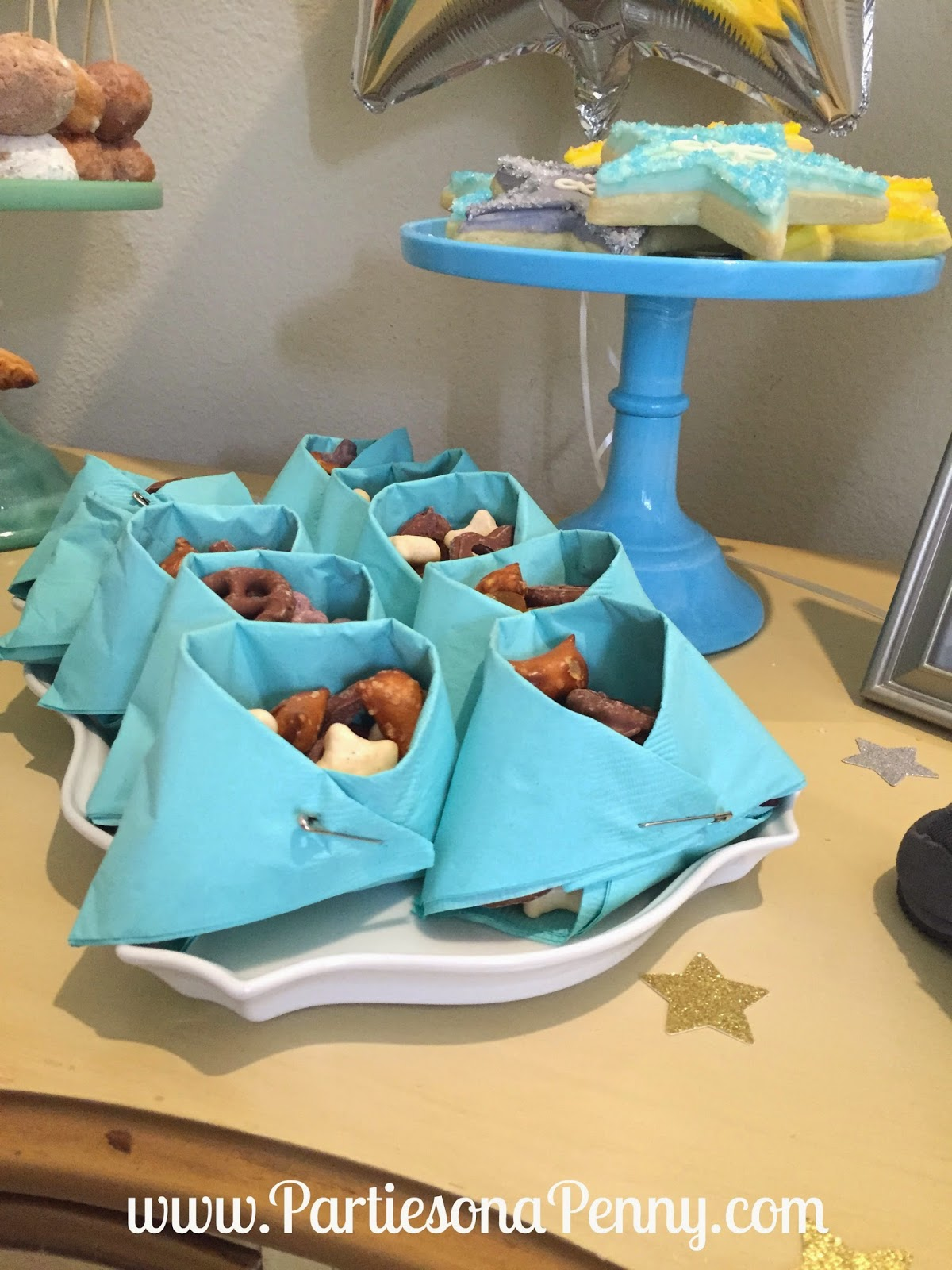 Baby Shower Dessert Ideas For A Boy parties on a penny: twinkle twinkle little star baby shower dessert