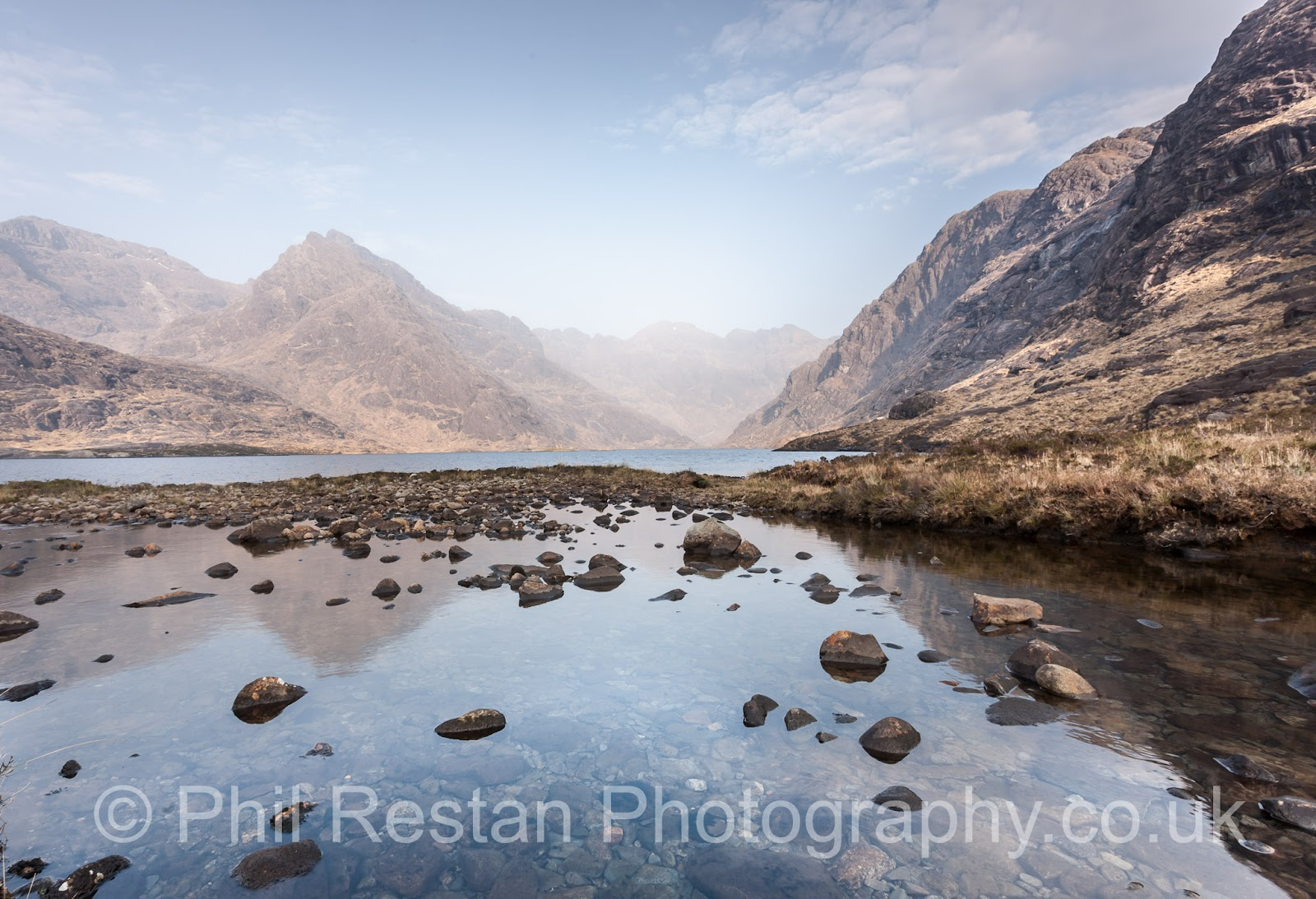 Photo of loch Coruisk, Isle of Skye