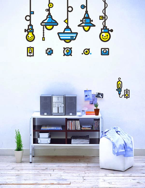 New Wall Art Stickers