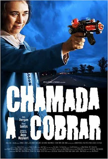 "Poster do filme ""Chamada a Cobrar"""