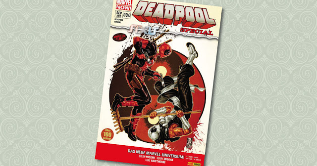 Axis Deadpool Special 4 Panini Cover
