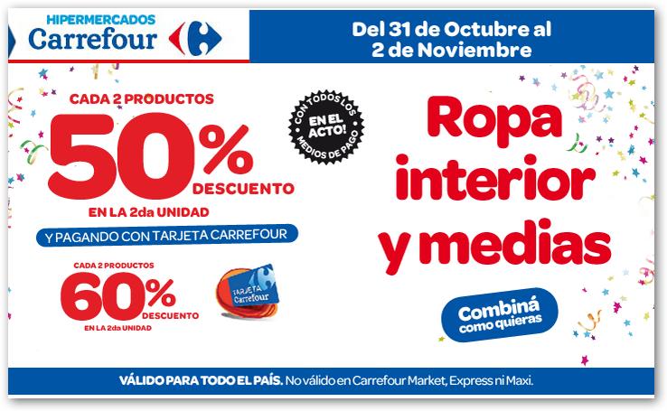 Ofertas y promos en argentina octubre 2014 - Ropa interior carrefour ...