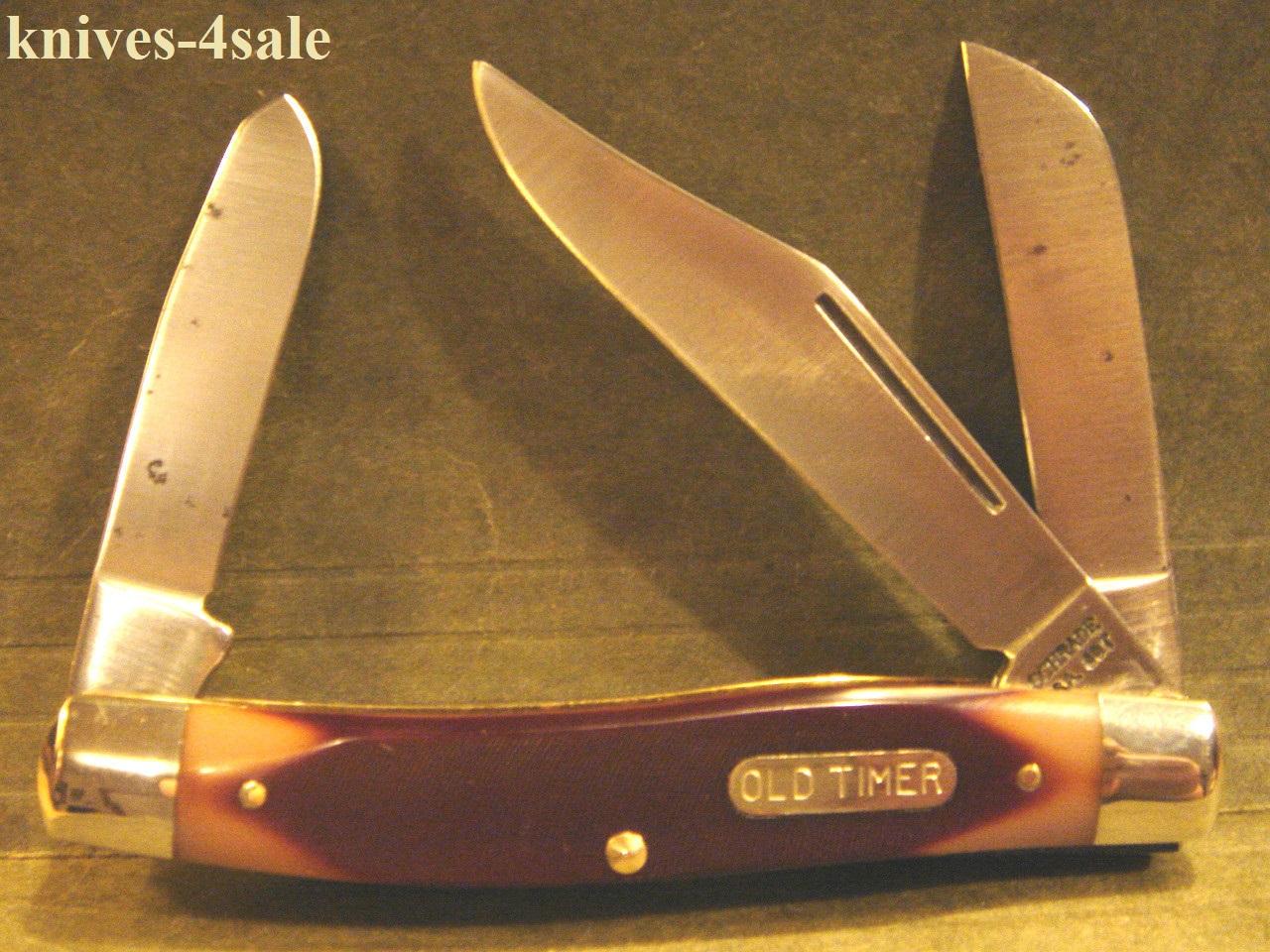 schrade knife old timer
