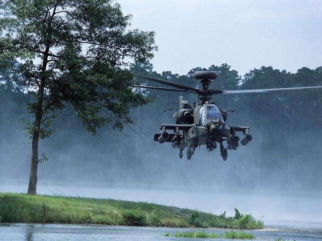 Embargo Militer dan Pembelian Helikopter AH-64E Apache