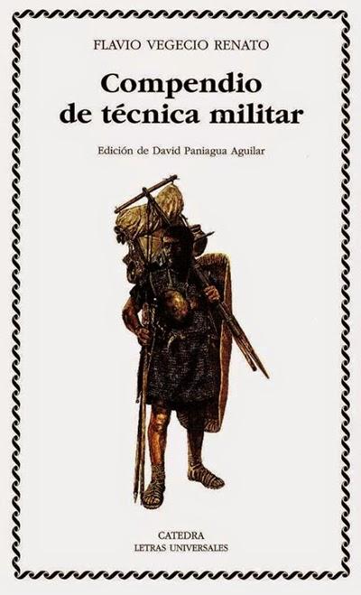 Compendio de técnica militar Flavio Vegecio Renato