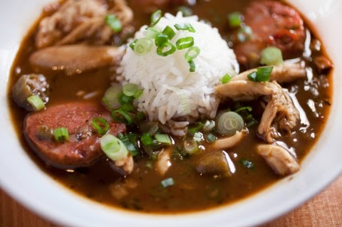 Chicken Sausage Gumbo for Two
