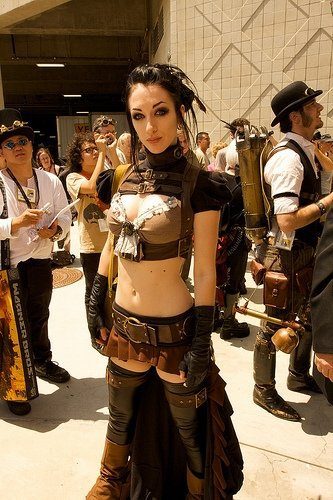 Kato of SteampunkCouture again