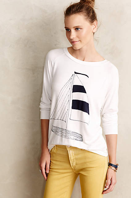 anthropologie smooth sailing tee on sale
