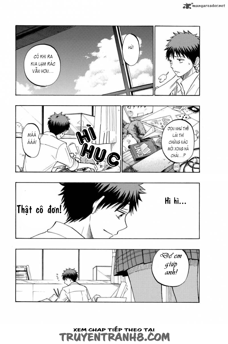 Yamada kun to 7 nin no Majo Chap 225 - Trang 9