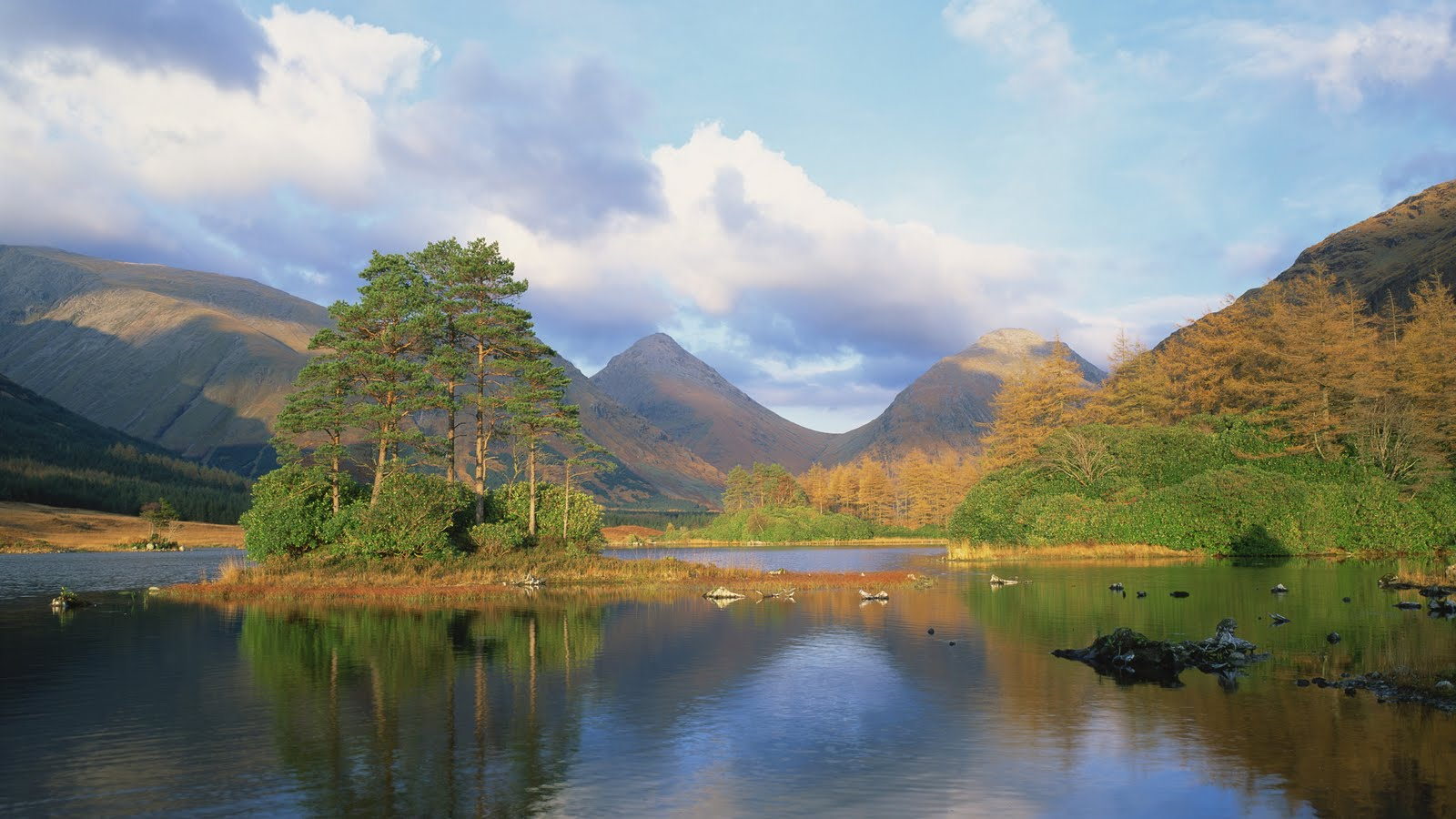 Nature pictures 08 04 loch in glen etive highlands scotland national geographic daily - Highland park wallpaper ...