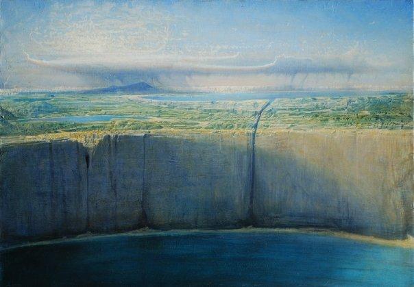 Agostino Arrivabene 1967 | Visionary italian painter