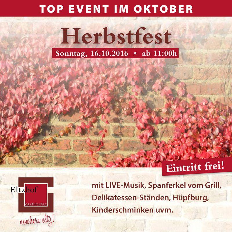 Herbstfest im Eltzhof, Köln