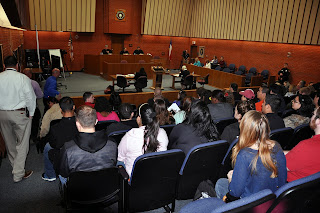 The 10th District Court of appeals hears cases in the CJ Courtroom.