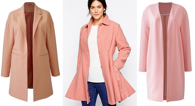 Pink Spring Coats | Down Coat