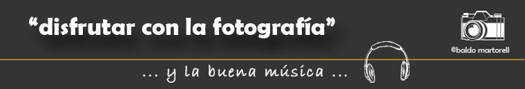 Disfrutar con la fotografía