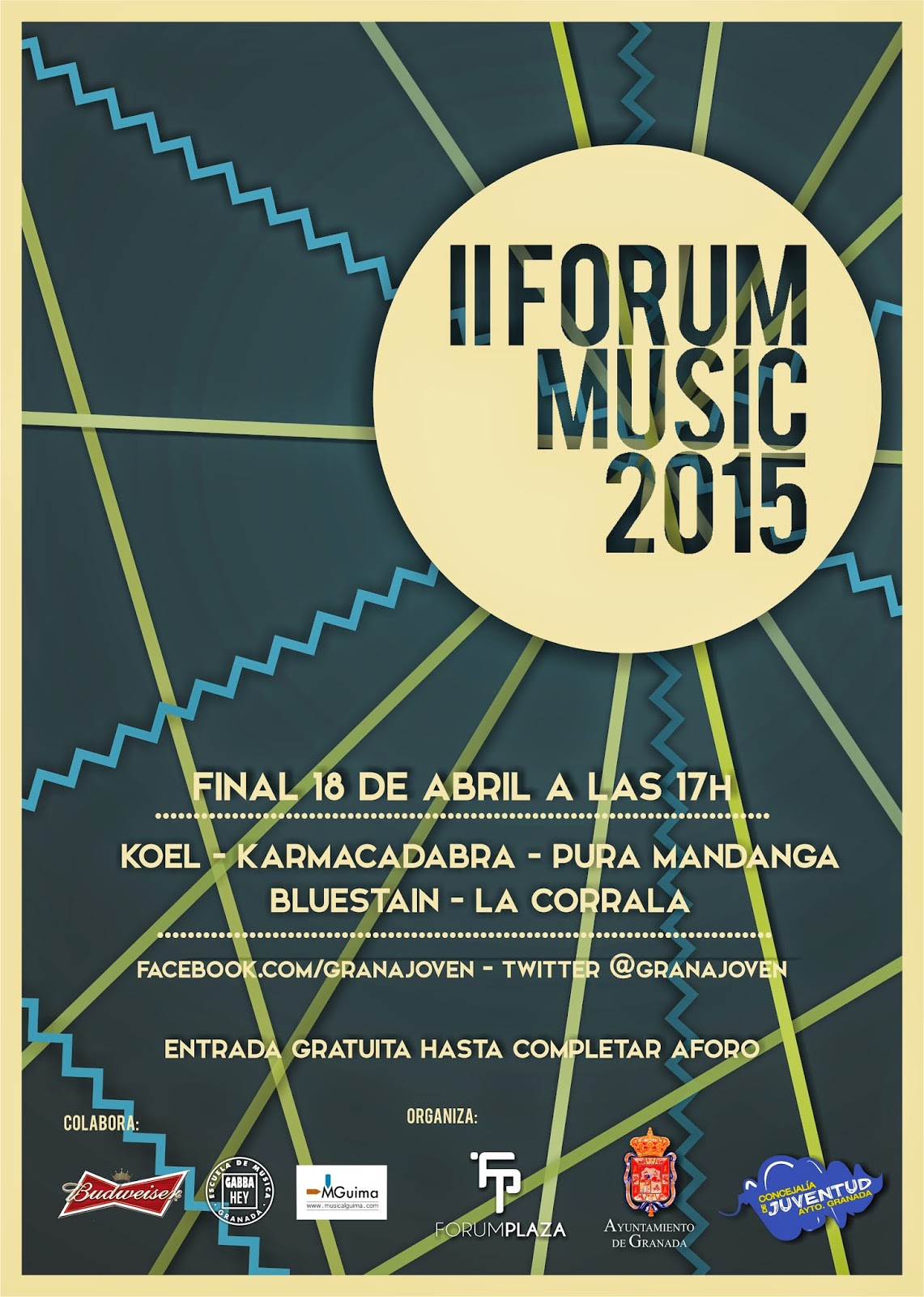 Concurso Forum Music granada 2015