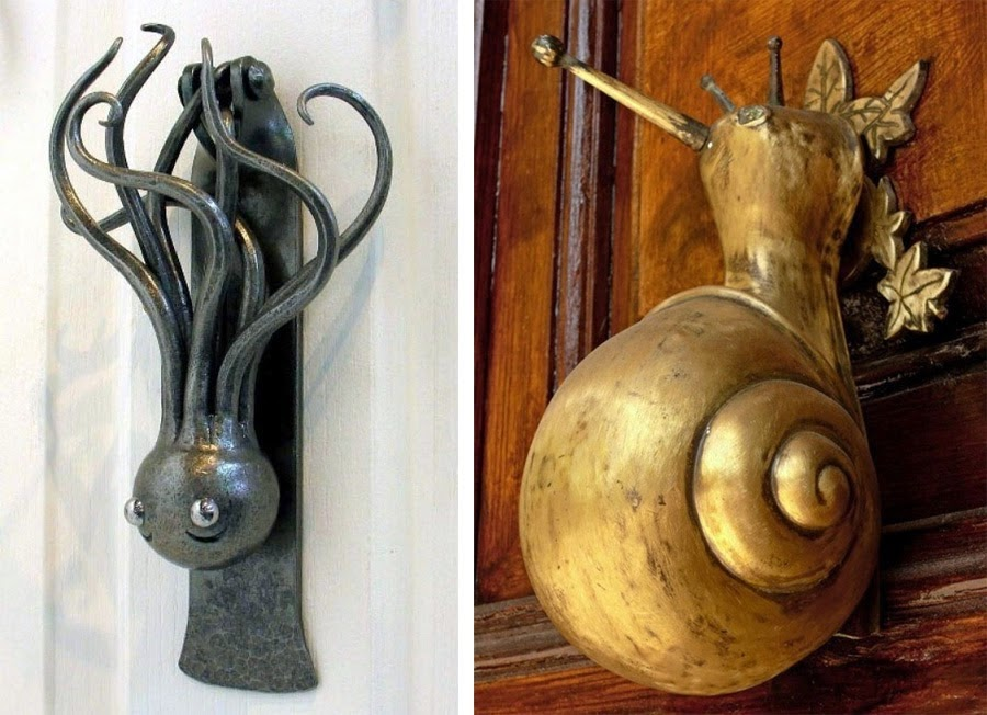 WEIRD NEWS Strange Door Knockers Door Handles