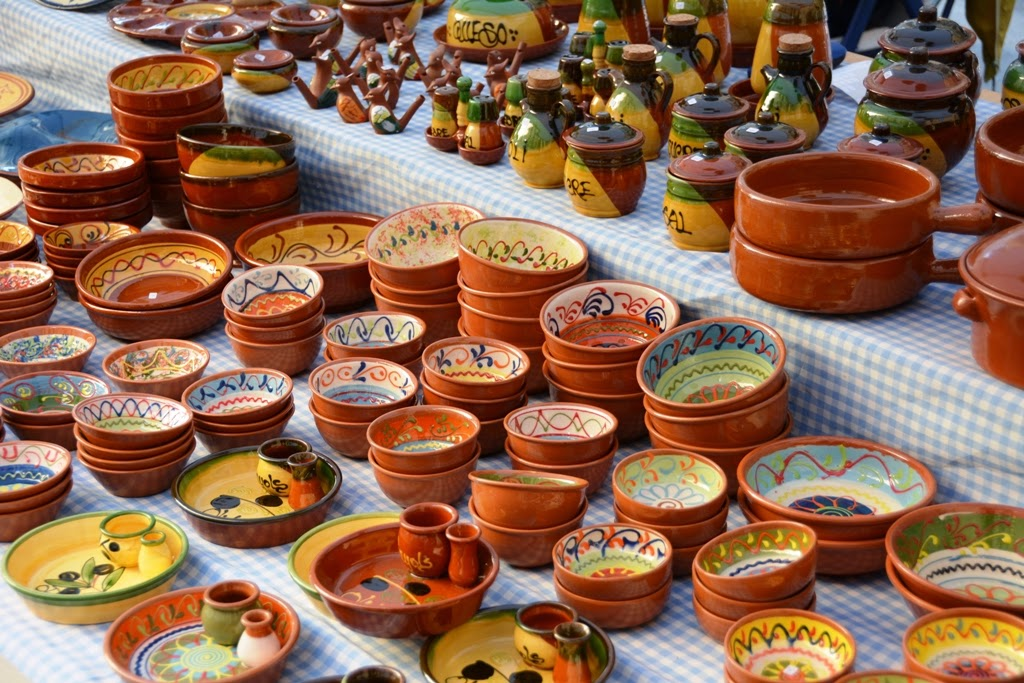 Barcelona Shopping ceramics