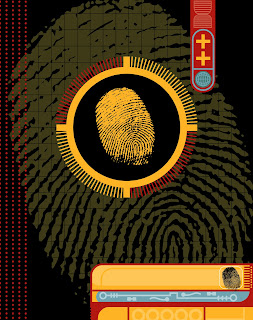 electronic fingerprint record