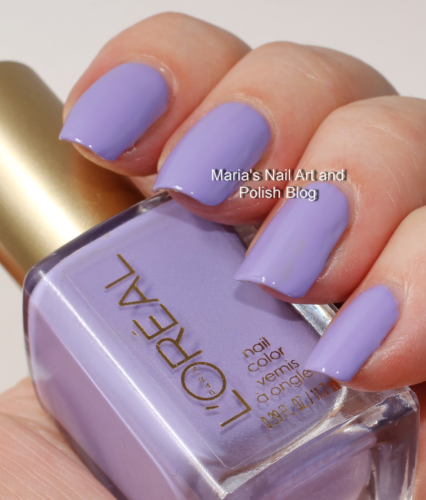 Marias Nail Art and Polish Blog: L\'Oreal swatches: Not a cloud in ...