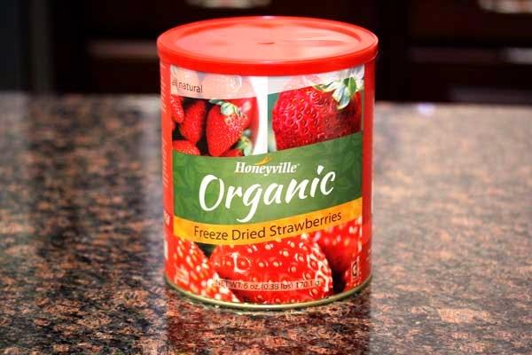 Freeze Dried Organic Strawberries