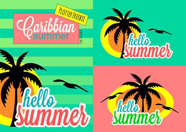 stitchydoo: Caribbean summer Plotter-Freebie