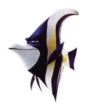 Disney Gill From Finding Nemo Cartoon Fish WallpaperGill From Finding Nemo