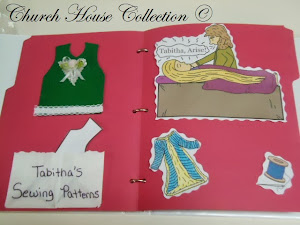 Tabitha Raised From The Dead Lapbook