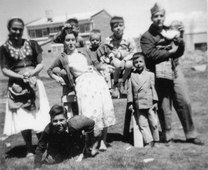 Familia Narváez Soto Fontibón 1954