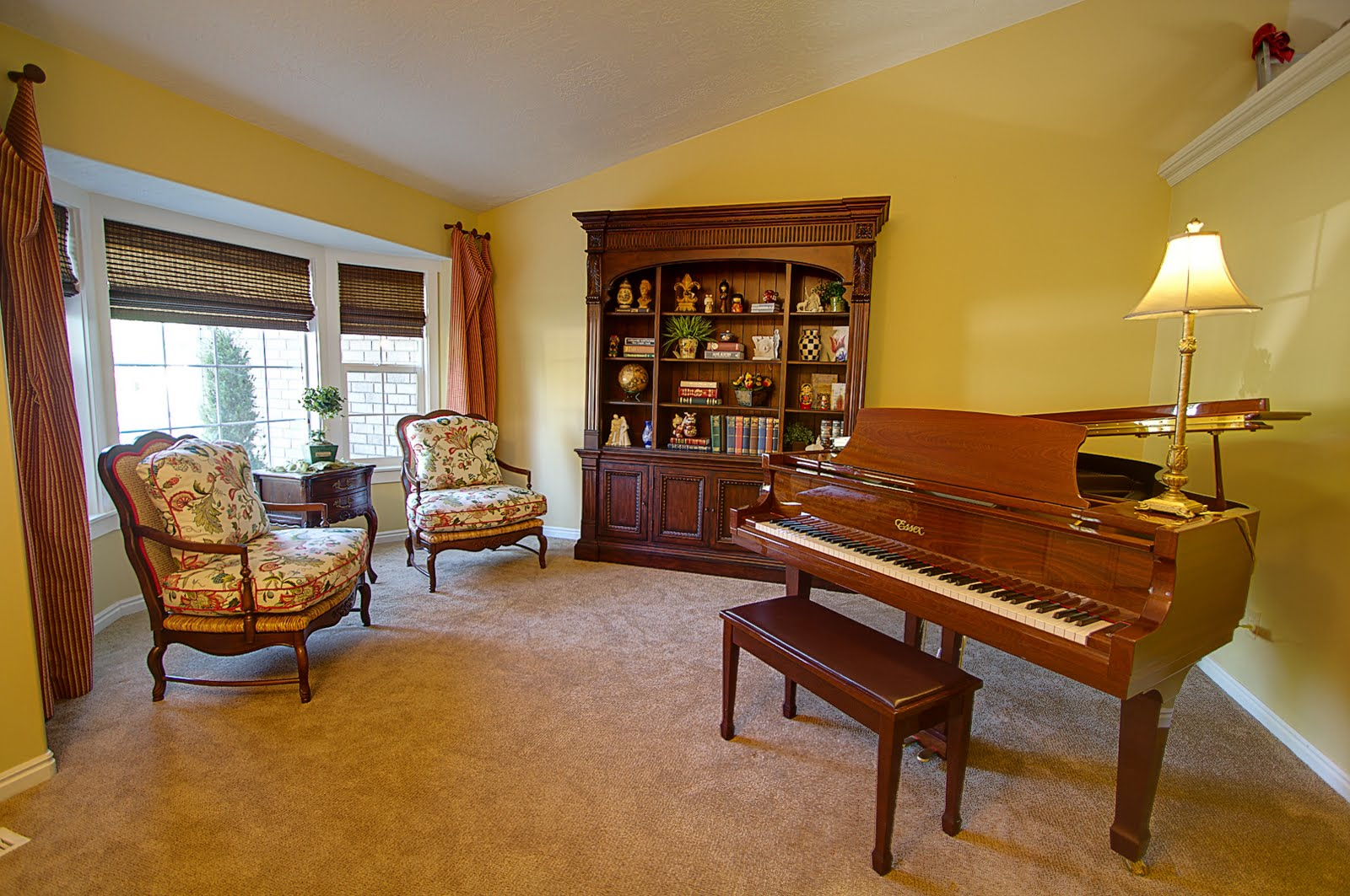 The design house interior design a grand piano room for Piano room decor