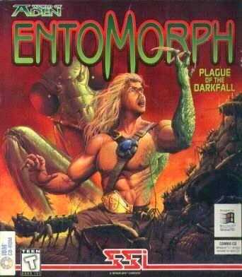 Entomorph pc old game cover RGP