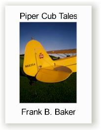 Photo of book cover for Piper Cub Tales by Frank B. Baker