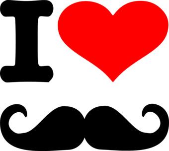 i 3 mustaches  love Mustache, só a