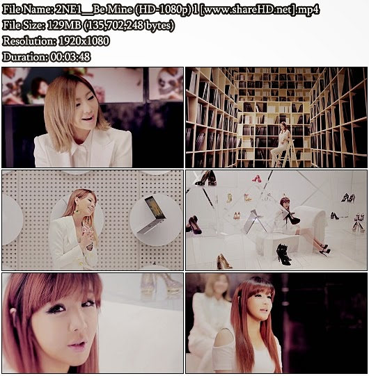 Download MV 2NE1 - Be Mine (INTEL Make Thumb Noise Project ) (Full HD 1080p)