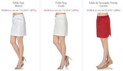 Faldas 11 euros