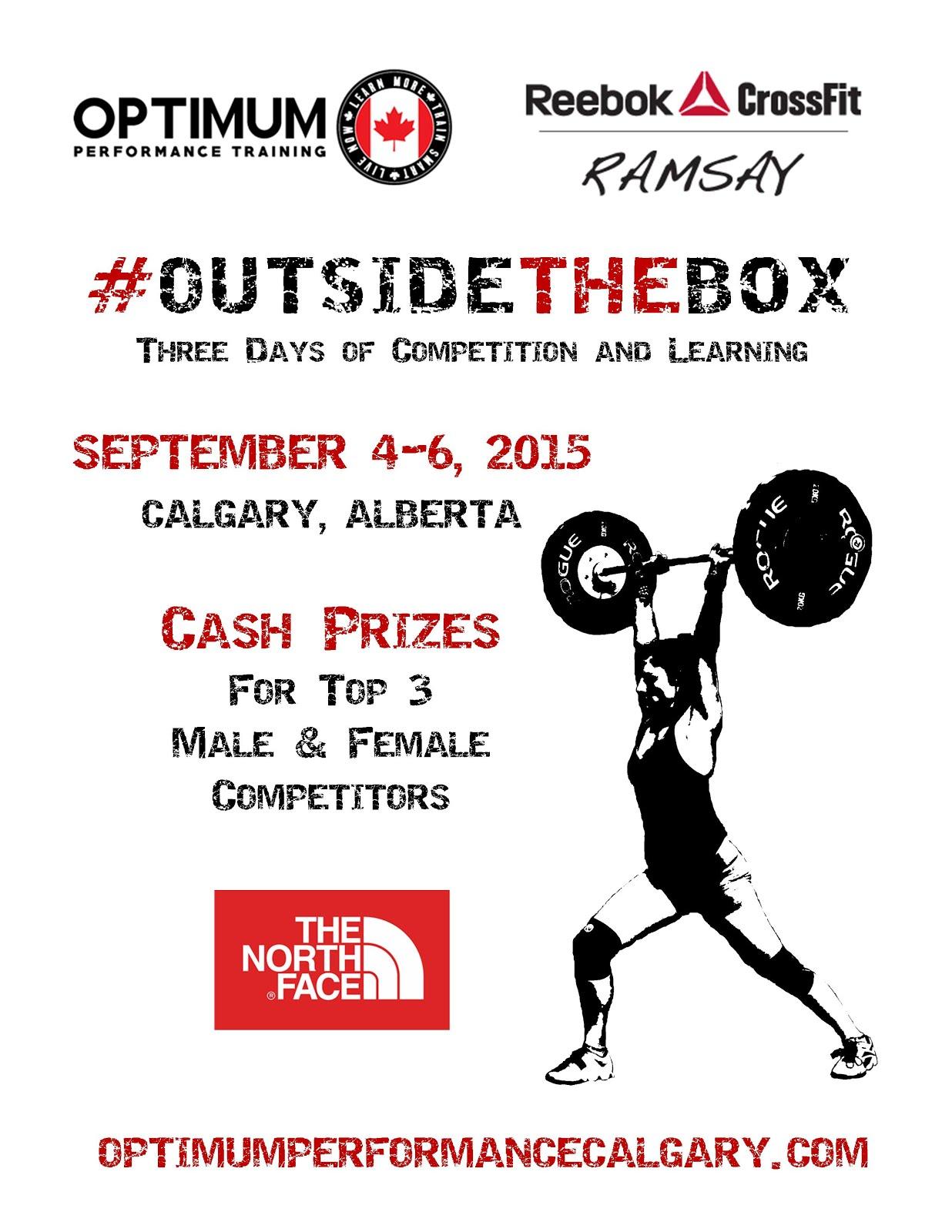 #OutsideTheBox 2015 Competition Sept.4-6, 2015