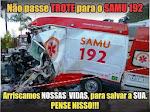 SAMU - TROTE É CRIME!