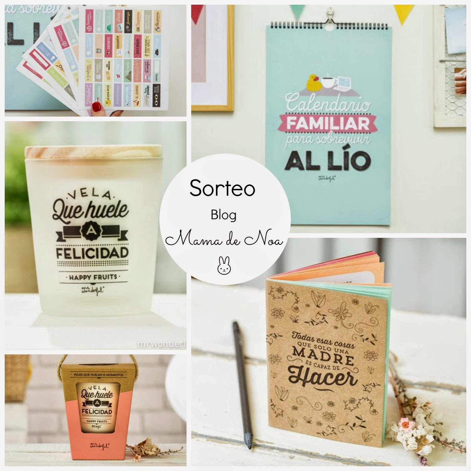 blog mama de noa sorteo mrwonderful mr.wonderful
