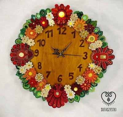 Sutaszowy Zegar Kwiatowy na rzecz Hospicjum Opolskiego