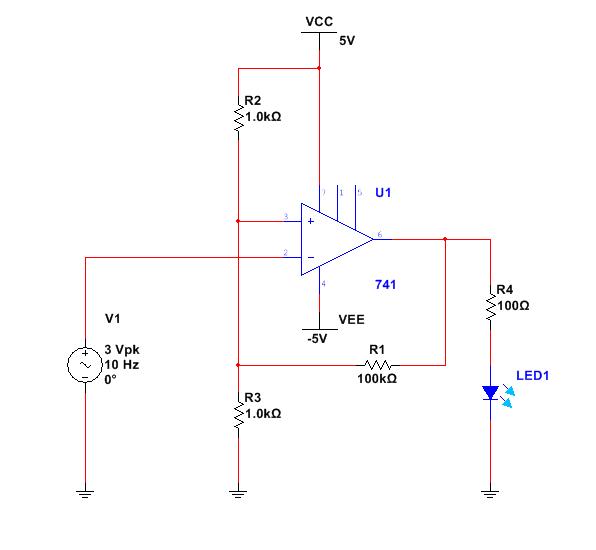 the answer is 42!! how to make a schmitt trigger using an op ampschmitt triggers can again be inverting or non inverting here is an inverting schmitt trigger circuit using a 741 op amp