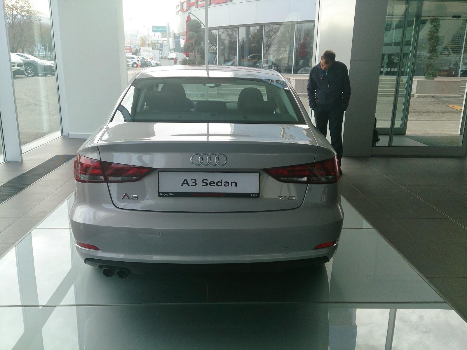 audi a3 sedan test sürüşü