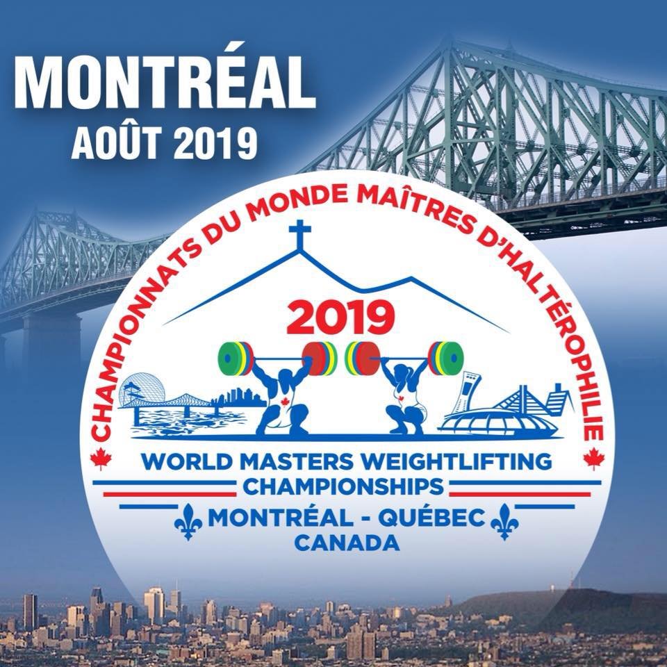 2019 World Masters Weightlifting Championships Montreal-Canada