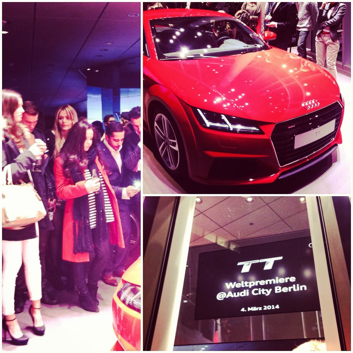 new audi TT coupe 2014, unveiling, august 2014, berlin, kufurstendamm, audi city, iheartblack, blogger, fashion blogger, lifestyle