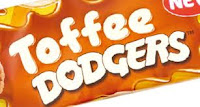 toffee dodgers , burtons food, burtons toffee dodgers