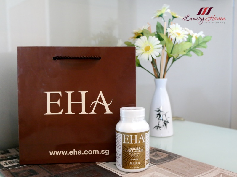 eha skincare products review derma collagen promotion