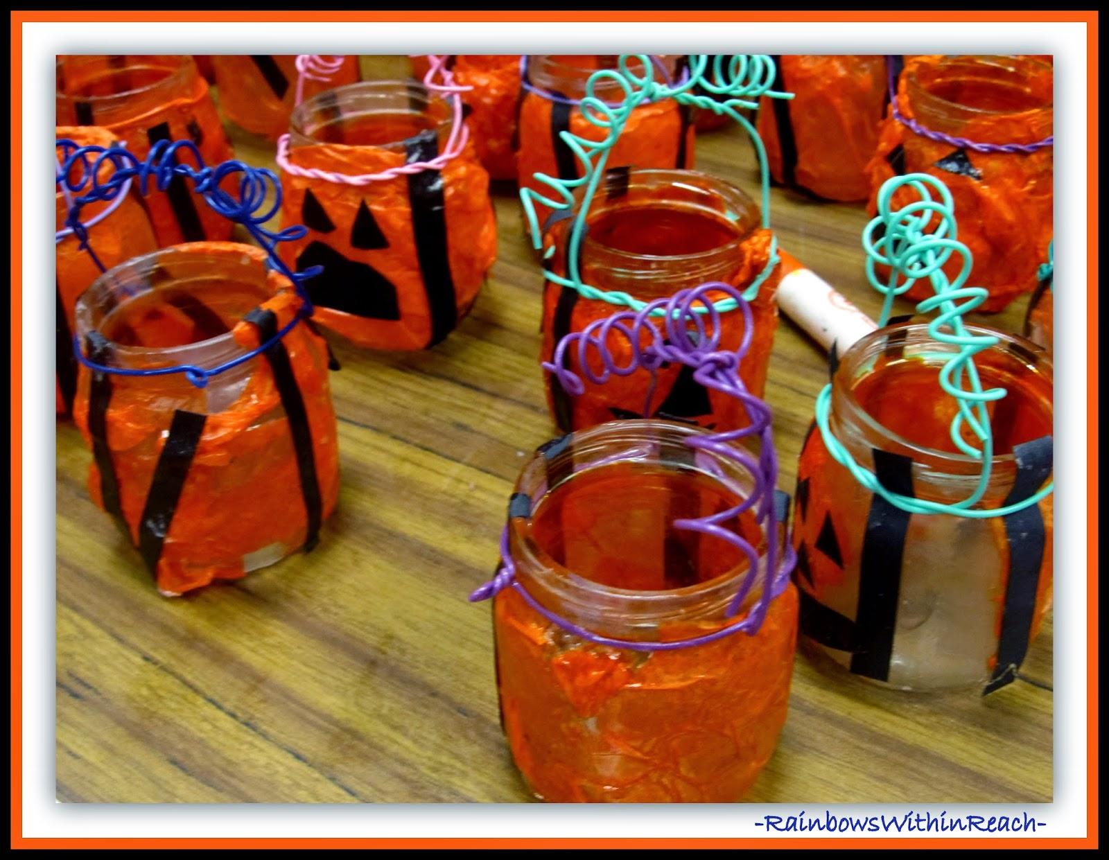 Jack-o-Lantern Pumpkin Craft at RainbowsWithinReach