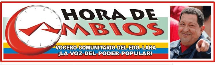 HORA DE CAMBIOS